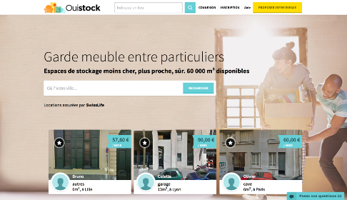 Ouistock, le site de costockage