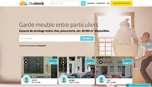 Ouistock, le site de costockage