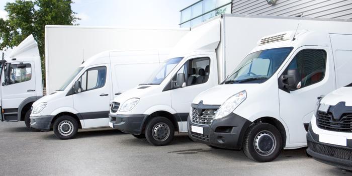 Différentes tailles de camion