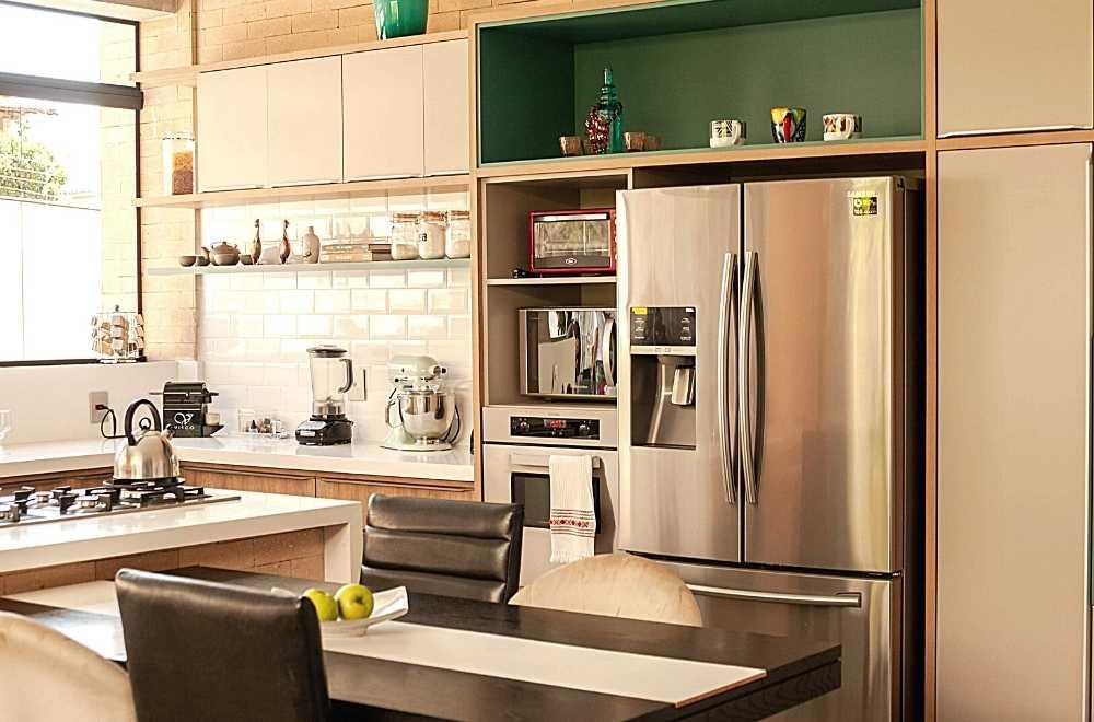 électroménagers dans une cuisine