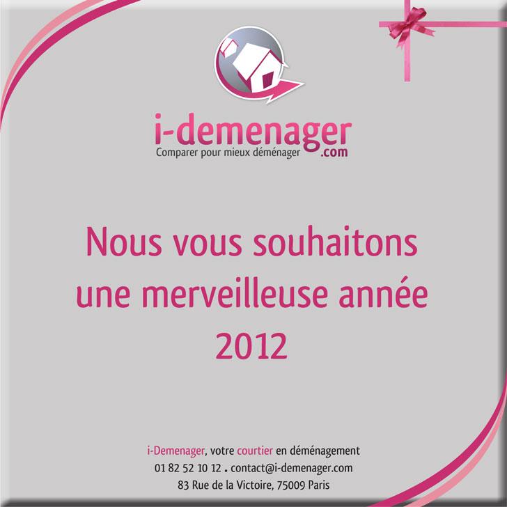 Excellente année 2012 avec i-Demenager !