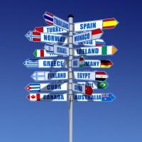 Déménagement international, spécificités