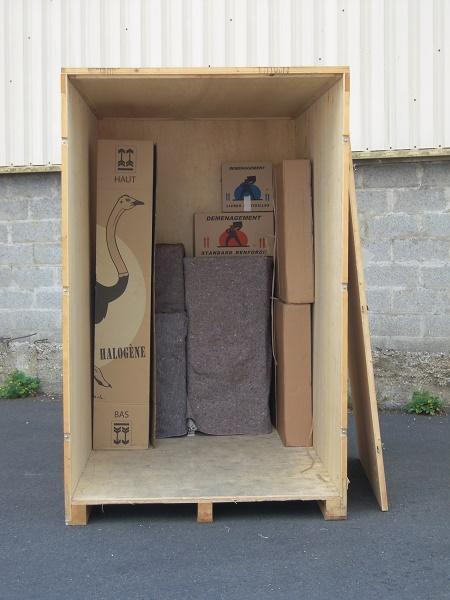 Garde-meuble : les avantages de la caisse mobile