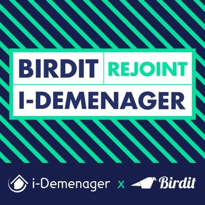 i-Demenager accueille Birdit